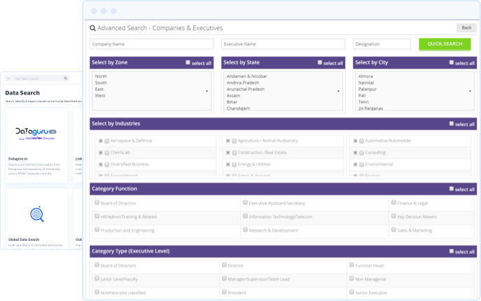 B2B Data | Corporate Database | Data Solutions Company
